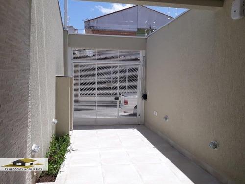 Sobrado A Venda No Bairro Vila Brasílio Machado Em São - S167-1