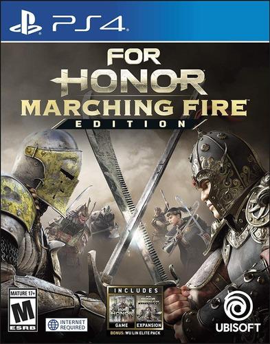For Honor Marching Fire  Edition - Ps4 Fisico Nuevo Sellado