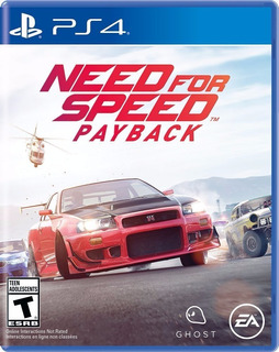 Need For Speed Payback Ps4 Fisico Sellado Ade Ramos