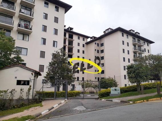 Apartamento Com 3 Dormitórios Sendo 1 Suíte, 72 M² Por R$ 230.000 - Granja Viana Ii - Cotia/sp - Ap1921