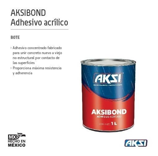 Adhesivo Acrílico Para Concreto Aksibond 1 L. 118471