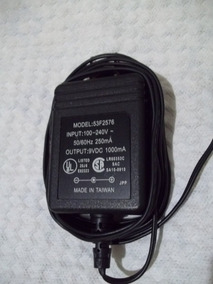 Adaptador Modelo 53f2576 9v 1000ma