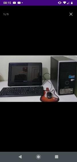 Pc Positivo Unique D2150. Processador: Intel Atom D525 - Dua
