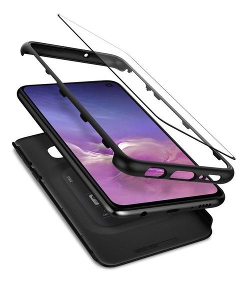 Funda Spigen Samsung S10e Thin Fit 360 + Vidrio Templado