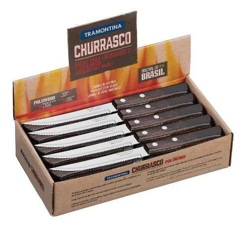 22 Facas Churrrasco Polywood Tramonti 21199964