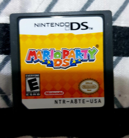 Mario Party Ds Para Nintendo Ds 3ds E 2ds ( Sem Caixa)