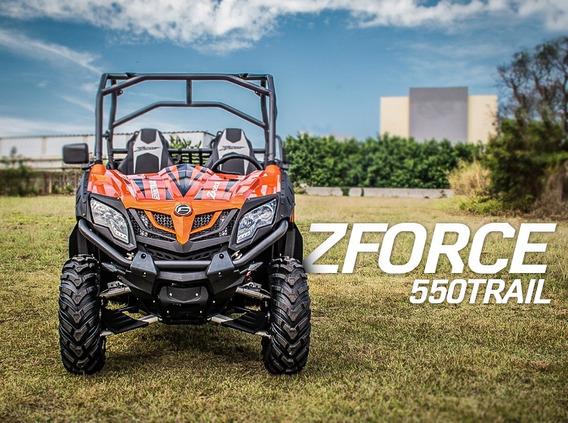 Utv Cf Moto Zforce 550t - 4x4 Automático + Direção Elétrica