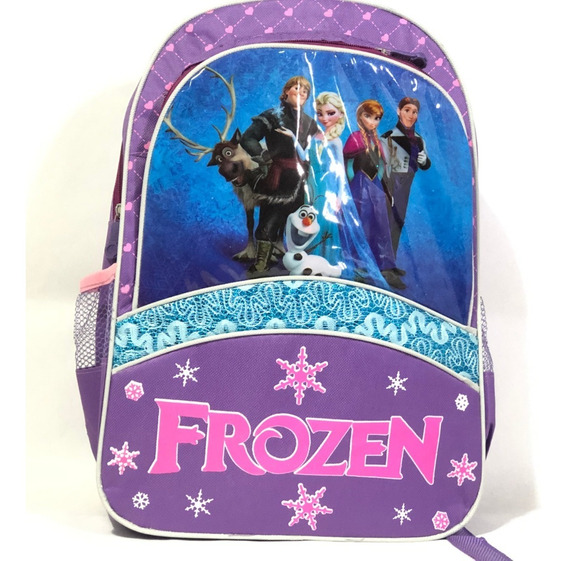 Mochila Infantil Para Niñas Personajes Frozen