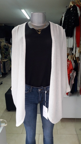 Cardigan O Kimono Color Blanco