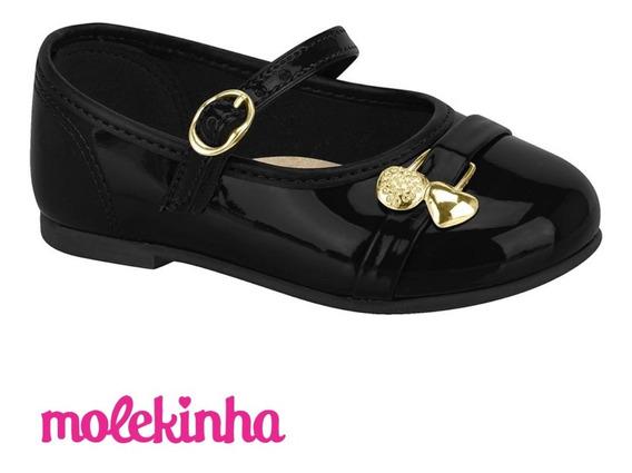 Zapatos Guillermina Niña Charol Molekinha