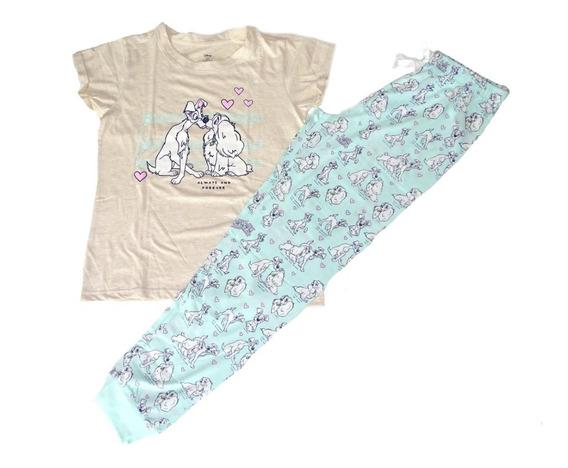 Pijama Conjunto 2 Piezas Disney Dama Y Vagabundo