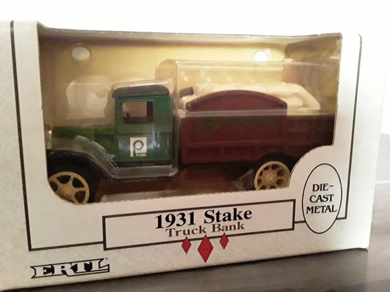 Carro A Escala 1/34 1931 Stake Truck Bank