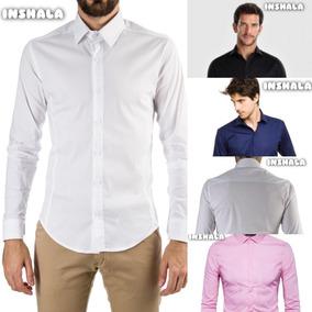0f964e280a Camisa Blanca Al Cuerpo Hombre - Ropa y Accesorios en Mercado Libre ...