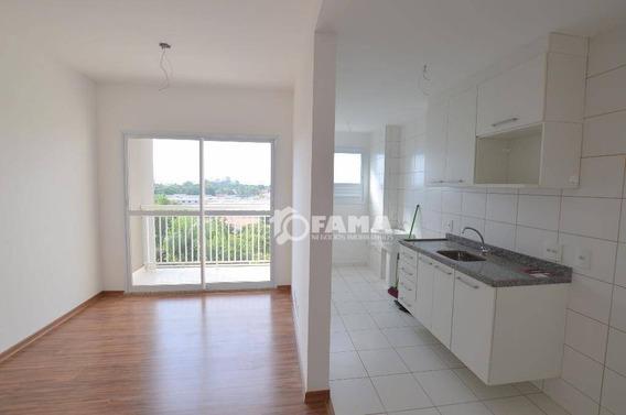 Apartamento Com 2 Dormitórios Para Alugar, 58 M² Por R$ 1.250,00/mês - Residencial Premiere Morumbi - Paulínia/sp - Ap0268