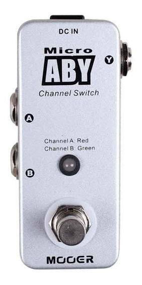 Pedal Mooer Micro Aby Canal Switch Pd0812