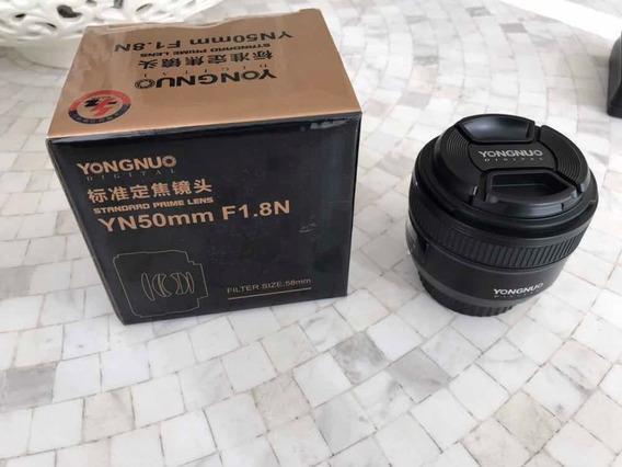 Lente Yn50mm F1.8n