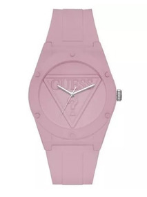 Relogio Guess Retro Pop Silicone W0979l5 Rose Original
