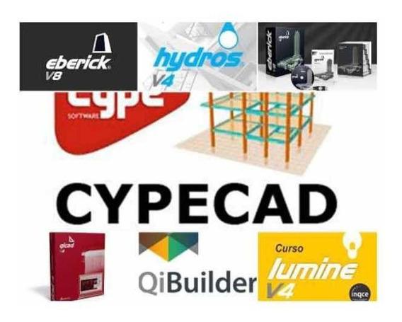 Cypecad 2018 Qibuilder 2019 Eberick 2019 Cursos + Programas
