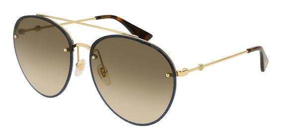 Gucci Gg 0351s - Cor 002 - Óculos De Sol Gucci