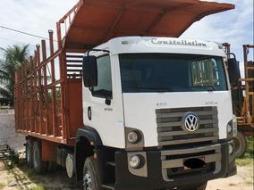 Volkswagen 31320 6x4 Canavieiro Com Gaiolão 2011