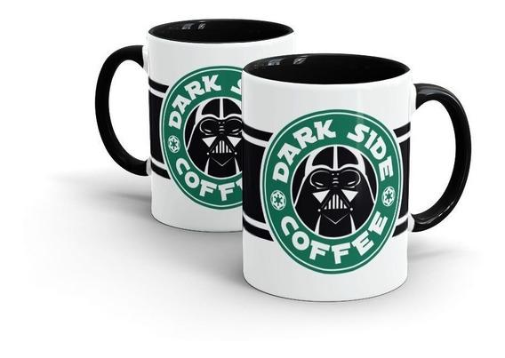 Caneca Nerd Star Wars Dark Coffee