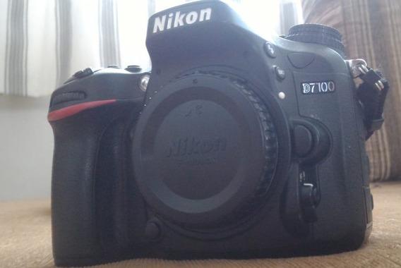 Câmera Nikon D7100 (corpo) Semi Nova/envio Imediato