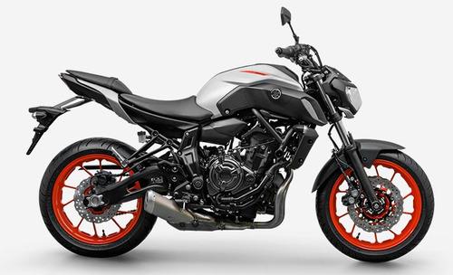 Mt 07 Abs 2021 Cinza Yamaha