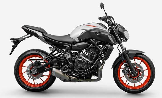 Mt 07 Abs 2020 Cinza Yamaha
