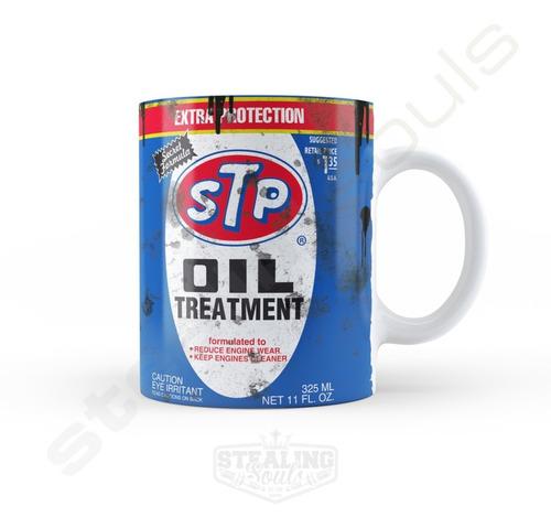 Taza De Porcelana Fierrera - Stp #01 | Oil - Aceite