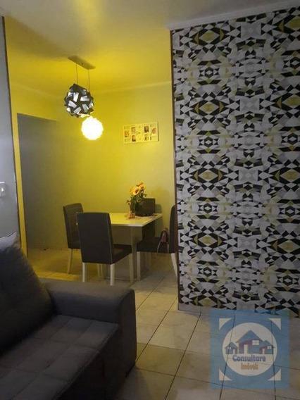 Apartamento Com 2 Dormitórios À Venda, 69 M² Por R$ 180.000,00 - Saboó - Santos/sp - Ap4163