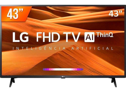 Smart Tv LG Led Pro 43'' Full Hd 3 Hdmi Wifi 43lm631c0sb