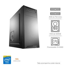 Cpu Pc Intel Core I5 + 4gb Ddr3 + Hd 500gb
