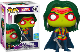 Funko Pop Marvel #441 Guardians Galaxy Gamora Sdcc Nortoys