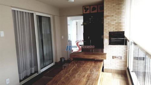 Imagem 1 de 30 de Apartamento Com 3 Dormitórios À Venda, 120 M² Por R$ 1.150.000,00 - Vila Prudente (zona Leste) - São Paulo/sp - Ap2049