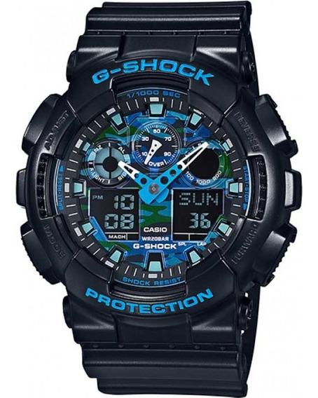 Relógio Casio G-shock Ga-100cb-1adr Ga100 + Nfe + Original