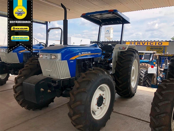 Tractor New Holland 7610s Fwd Herencia Con 200 Horas