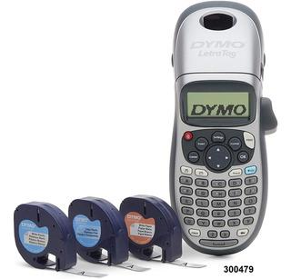Rotuladora Dymo Letratag Lt100h Plus Etiquetadora + 3car W01