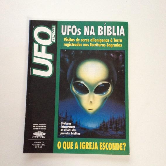Revista Ufo Especial Na Bíblia O Que A Igreja Esconde N°15