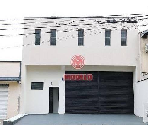 Barracão Para Alugar, 312 M² Por R$ 5.500/mês - Piracicamirim - Piracicaba/sp - Ba0329