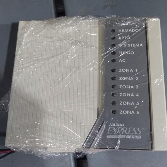 Teclado Napco 6 Setores Para Placas Xp600 Usada - Revisada