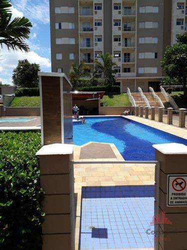 Apartamento Com 3 Dormitórios À Venda, 72 M² Por R$ 320.000,00 - Jardim Esmeralda - Limeira/sp - Ap1221