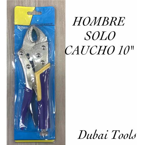 Alicate De Presion 10 Mango Caucho Blister Dubai Tools