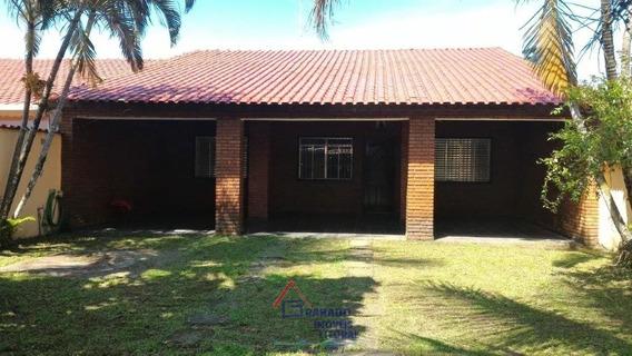 Casa Em Itanhaém 3 Dormitórios Amplo Quintal. Financie