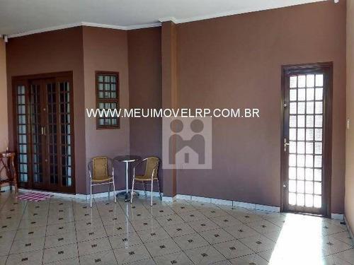 Imagem 1 de 12 de Casa Residencial À Venda, Residencial Parque Dos Servidores, Ribeirão Preto - Ca0054. - Ca0054