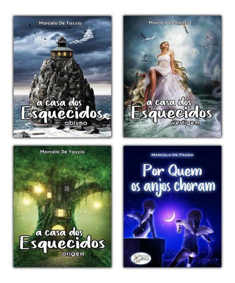 Coleção Marcelo De Fazzio (kit 4 Livros)