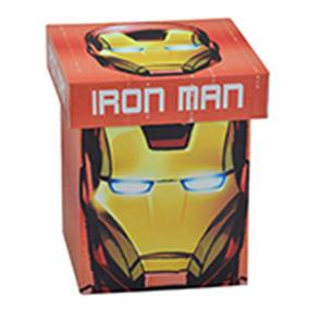 Caixa Decorativa - 20 Cm - Disney - Marvel - Iron Man - Face