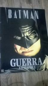 Livro Batman Guerra Ao Crime (alex Ross)