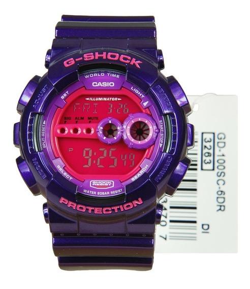 Relógio Casio G-shock Gd100sc-6dr