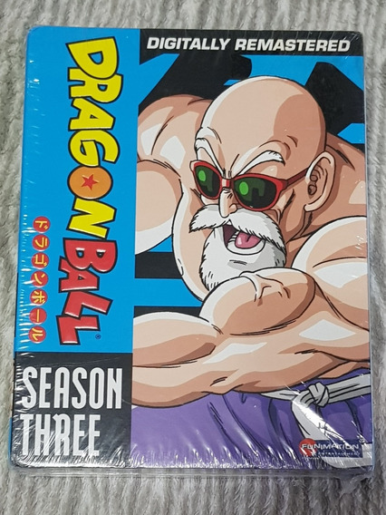 Dragon Ball Box Dvd Season 3 Original Novo Lacrado Son Goku