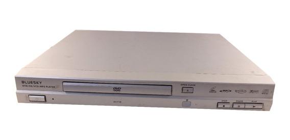 Aparelho Dvd Player Bluesky Dv710 220v 15w Scart A9023